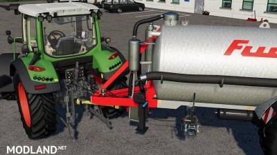 Liquid manure set galvanized 9000 liters v 2.0, 3 photo